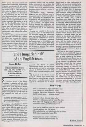 The Hungarian half of an English team » 13 Aug 1994 » The Spectator