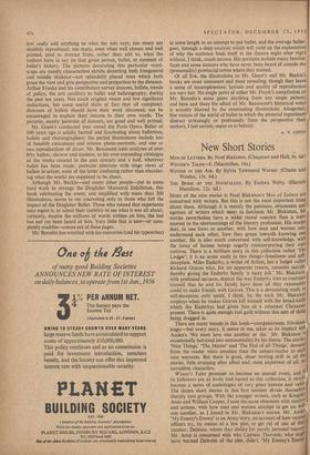 New Short Stories » 23 Dec 1955 » The Spectator Archive