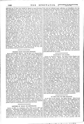 STORIES FROM ENGLISH HISTORY  » 27 Jun 1903 » The Spectator