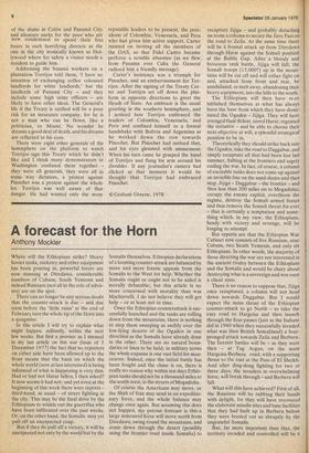 A forecast for the Horn » 28 Jan 1978 » The Spectator Archive