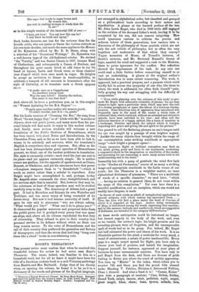 ROGET'S THESAURUS * » 2 Nov 1912 » The Spectator Archive